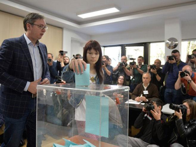 Srbija - glasanje: Aleksandar Vučić