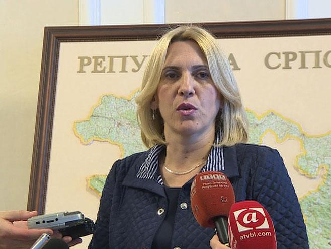 Жељка Цвијановић - Фото: РТРС