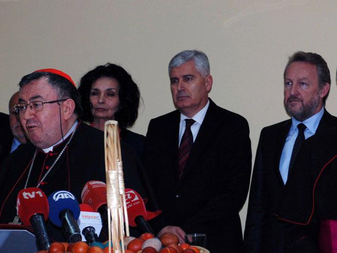 Драган Човић и Бакир Изетбеговић - Фото: СРНА