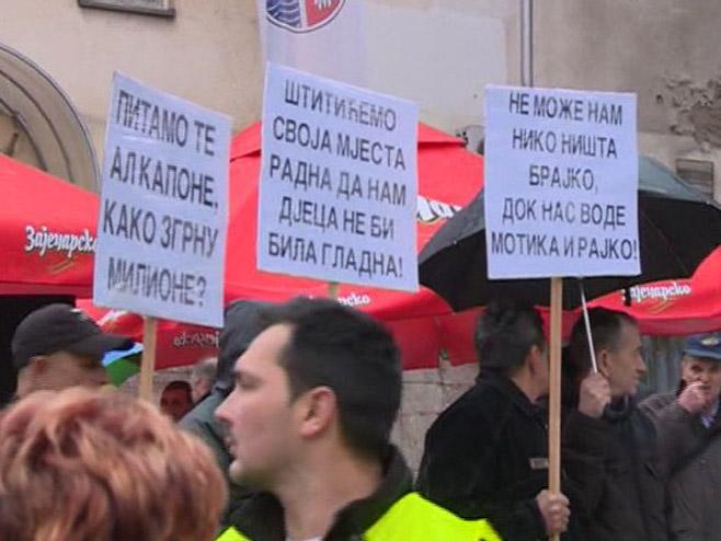 Зворник - протести