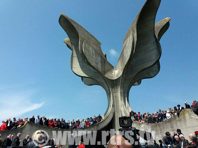 Сјећање на жртве Јасеновца (Фото: РТРС)