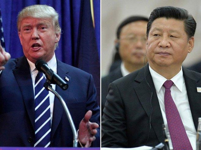 Доналд Трамп - Си Ђинпинг - Фото: nezavisne novine