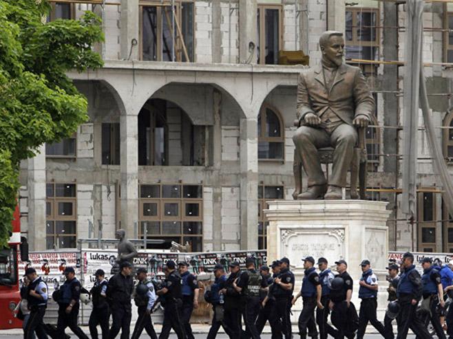Македонија - полицијске снаге - Фото: Screenshot