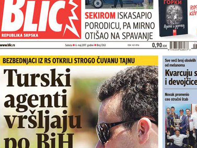 Турски агенти преплавили БиХ - Фото: blic.rs