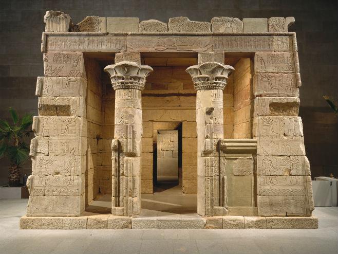 Egipatski hram Dendur u Metropoliten muzeju (Foto: metmuseum.org)