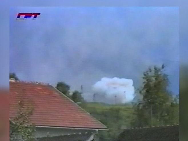 Посљедице бомбардовања - Фото: РТРС