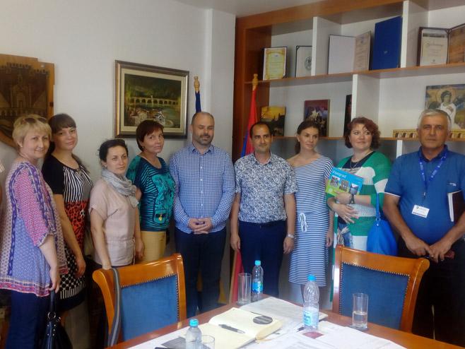 Вишеград посјетили професори и студенати из Русије - Фото: СРНА