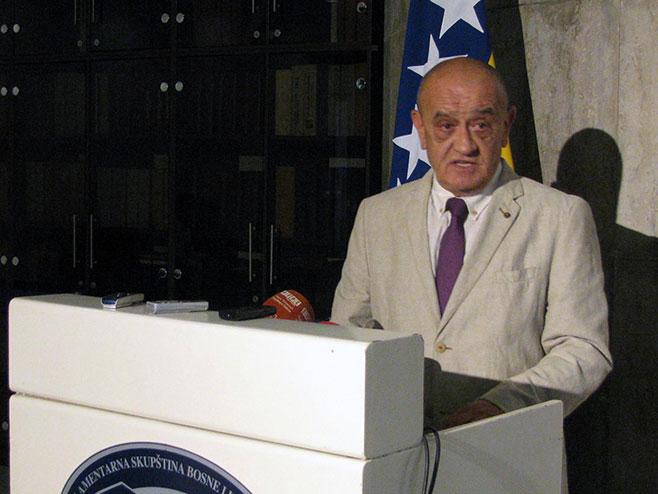 Министар финансија и трезора БиХ Вјекослав Беванда - Фото: СРНА