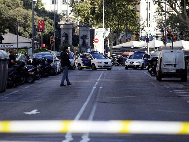Барселона - мјесто напада (Фото:RT/twitter) -