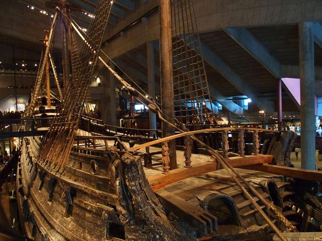 Шведски ратни брод Васа (Фото:hiveminer.com)