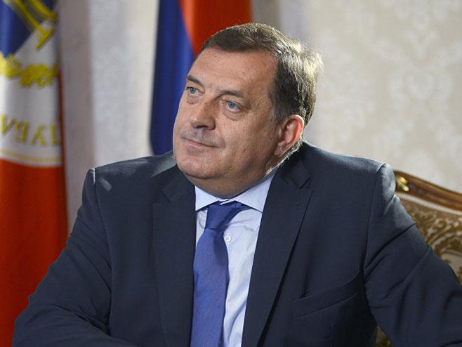 Милорад Додик (Фото: AP Photo/ Radivoje Pavicic) -
