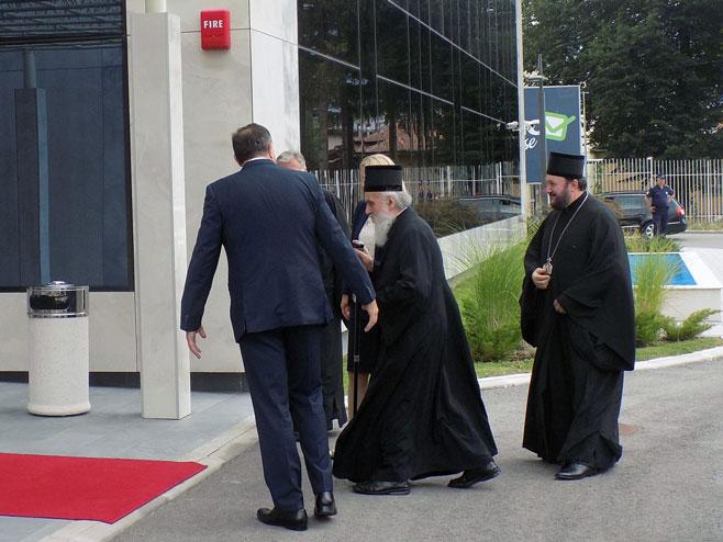 Источно Сарајево - Дочек патријарха - Фото: СРНА