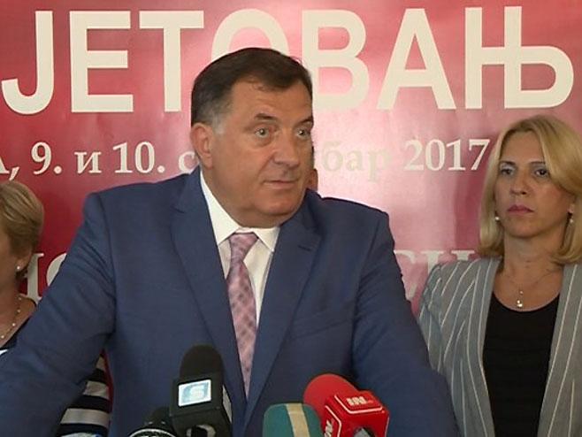 Милорад Додик - Фото: РТРС