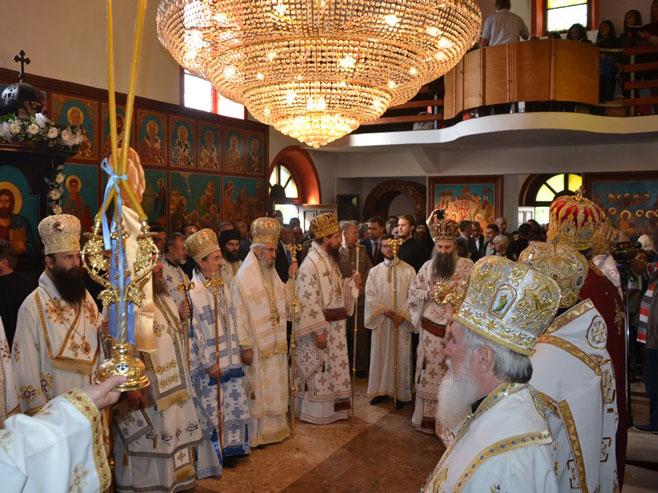 Босански Петровац - церемонија устоличења епископа Сергија - Фото: СРНА