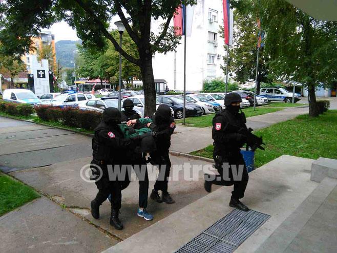 "Akcija hapšenja ""Petrićevac""          (Foto:RTRS)"