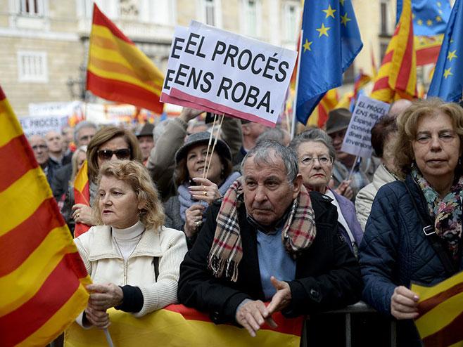 Подршка јединству Шпаније  (Фото:img.rt.com) -