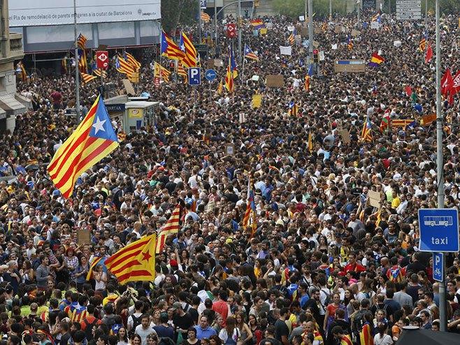 Колапс у Каталонији - Фото: AP