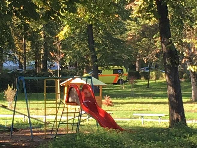Мјесто покушаја самубиства у Теслићу (Фото: Фејсбук/Дневна доза Добоја)
