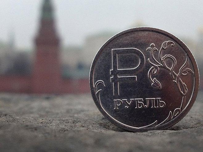 Руска рубља - Фото: AFP