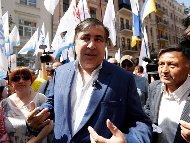 Михаил Сакашвили - Фото: AP