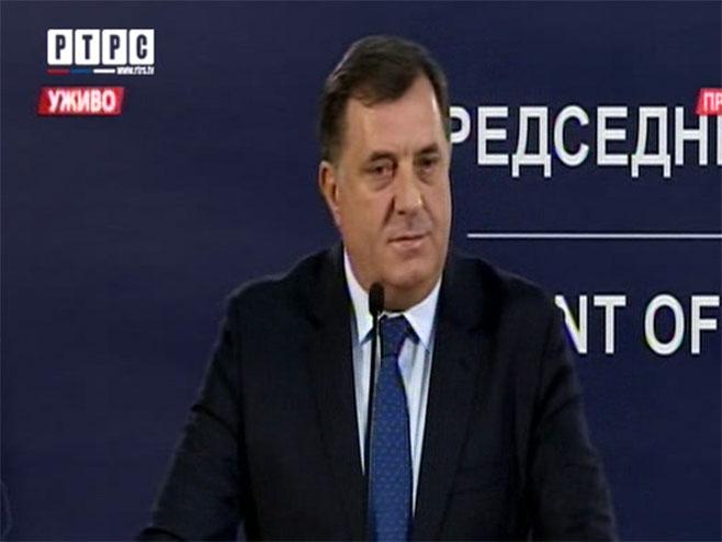 Предсједник Српске Милорад Додик