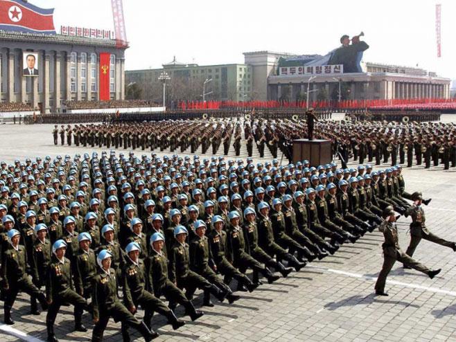 Широм Сјеверне Кореје вјежбе у склопу припрема за рат (илустрација) - Фото: nezavisne novine