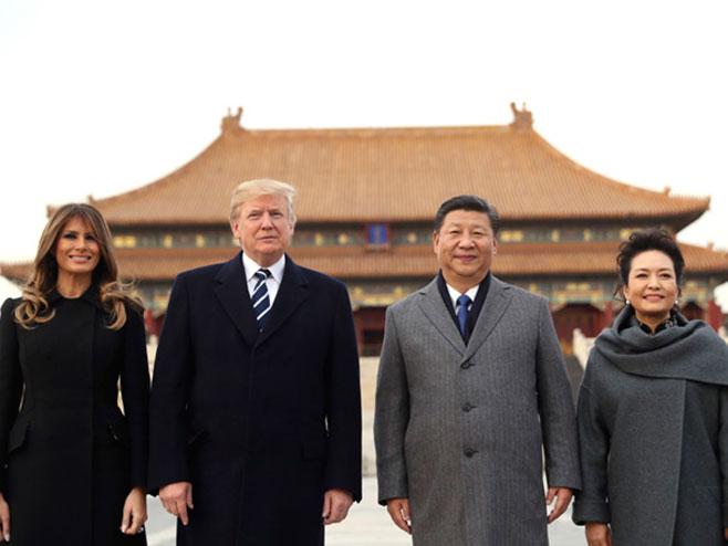 Си Ђинпинг и Доналд Трамп - Фото: Beta/AP