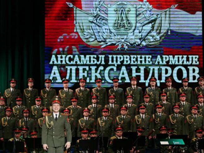 """Наступ хора """"Александров"""" у Београду - Фото: ТАНЈУГ"""