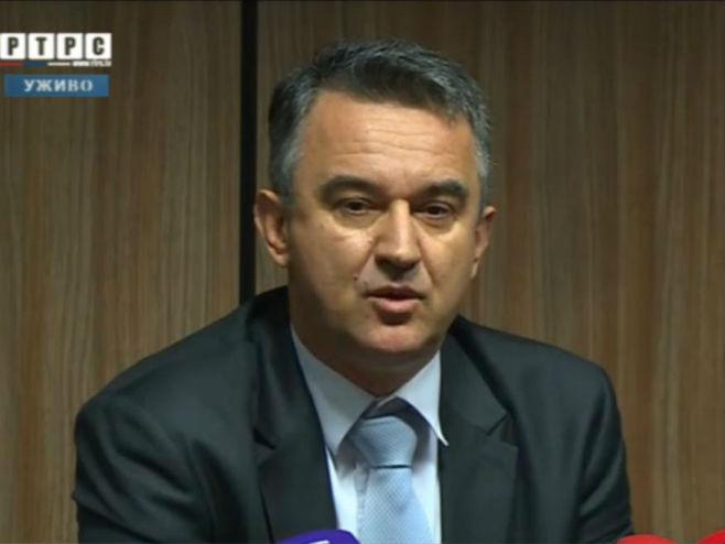Дарко Младић-прес конференција - Фото: Screenshot