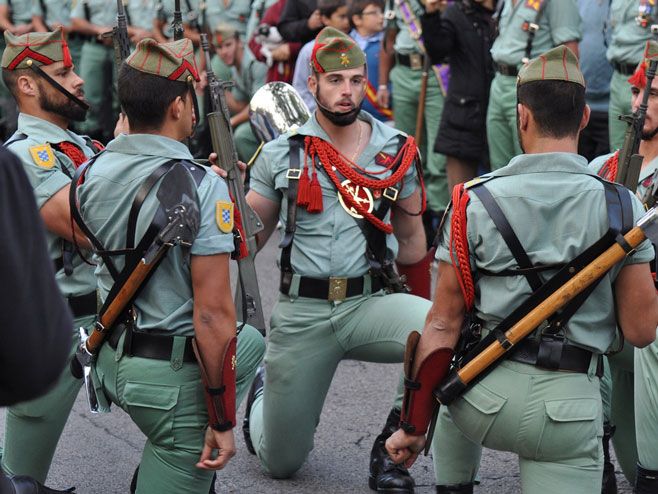 """Шпанска легија - елитна јединица """"Младожење смрти"""" (Фото: Screenshot)"""