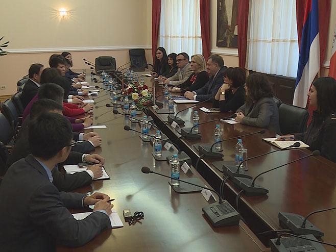Додик и Цвијановићева са кинеском делегацијом