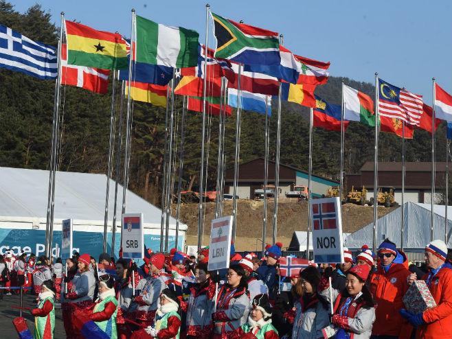 Србија на Зимским ОИ у Пјонгчангу (Фото: РАС/Александар Димитријевић)