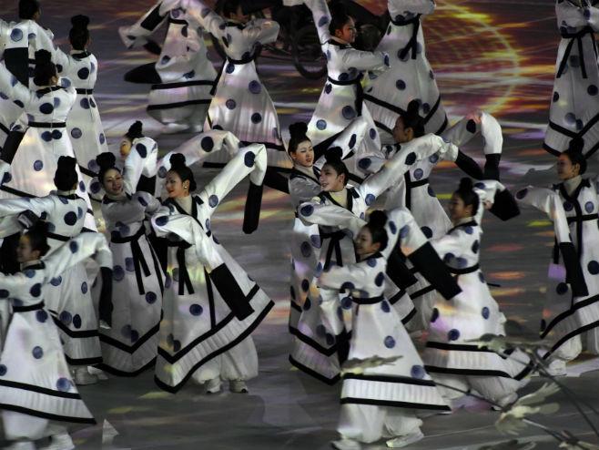 Отварање Зимских олимпијских игара у Пјонгчангу (Фото: James Hill/nytimes)