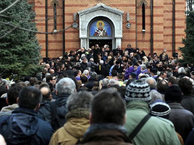 Сахрањен Небојша Глоговац (Фото: Новости/ Д.Милановић, Н.Скендерија)