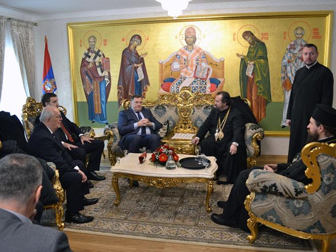 Karlovac: Dodik u vladičanskom dvoru karlovačkog Sabornog hrama