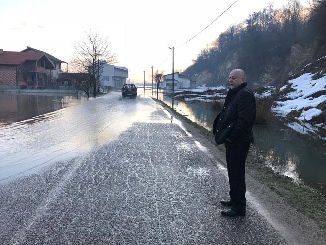 Kostajnica - poplave