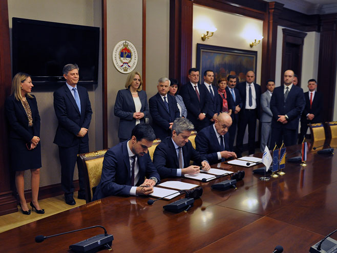 Потписивање споразума о гранту ЕУ за изградњу моста на Сави код Градишке
