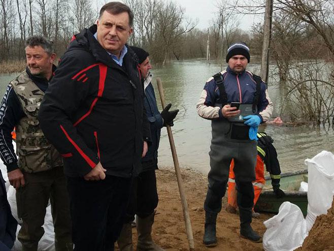 Milorad Dodik u Kozarskoj Dubici