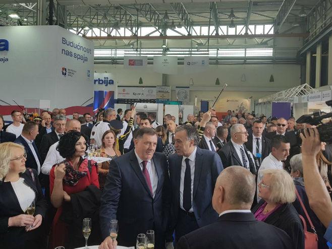 Милорад Додик на Сајму у Мостару