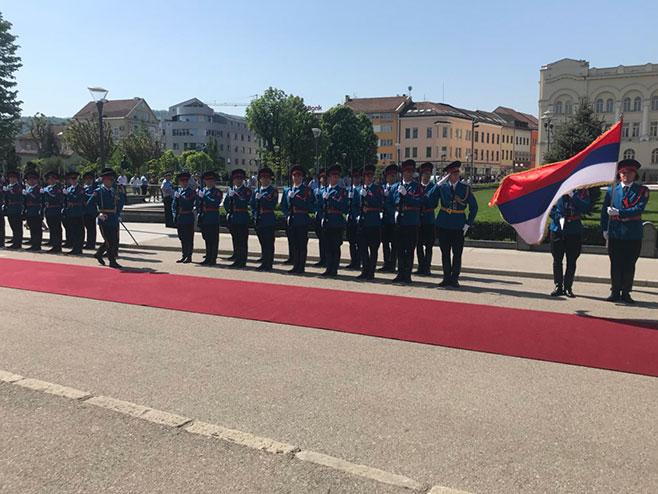 Припреме за долазак руске делегације у Бањалуку (Фото: РТРС)