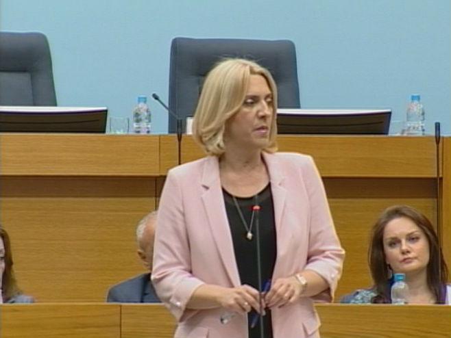 Željka Cvijanović (Foto: RTRS)