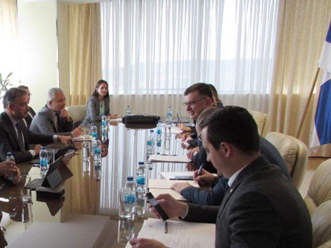 Састанак министра Тегелтије са представницима ММФ-а