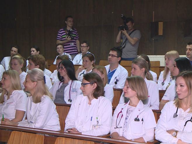 УКЦ РС- Предавање др Војке Горјуп из Љубљане (Фото: РТРС)