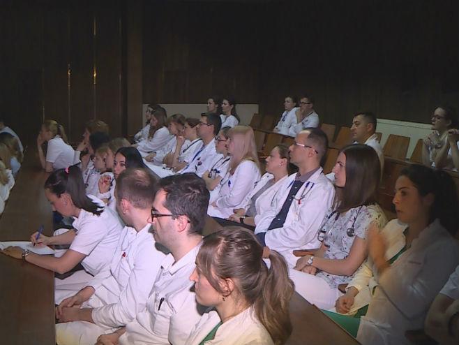 UKC RS- Predavanje dr Vojke Gorjup iz Ljubljane (Foto: RTRS)