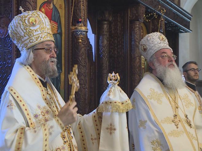 Бањалука: Света архијерејска литургија (Фото: РТРС)