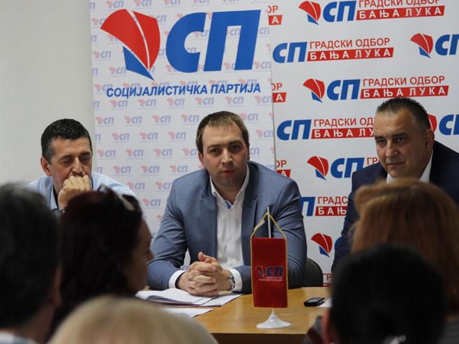 Горан Селак, Социјалистичка партија