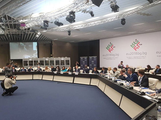 """Željka Cvijanović u Sofiji na skupu """"Strateški dijalog za zapadni Balkan"""" (Foto: RTRS)"""