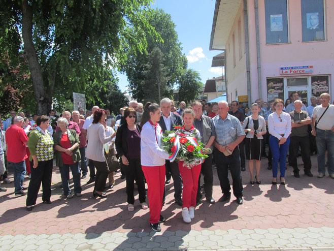 Obilježavanje 26 godina od osnivanja Druge posavske brigade (Foto: SRNA)