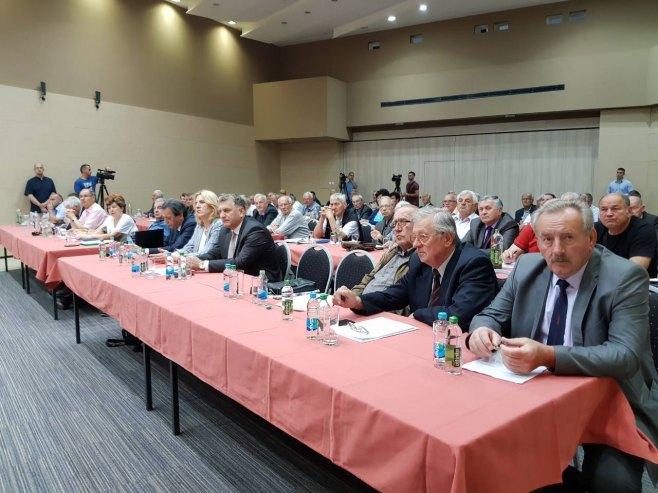 Skupština penzionera Srpske u Tesliću