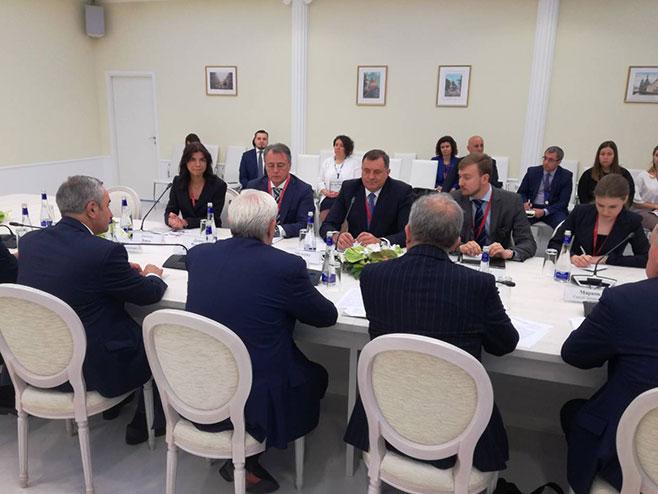 Састанак са Полтавченком (Фото: РТРС)